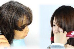 母に勧められたヘアカットブラシを使ってみた。簡単で仕上がり良し!
