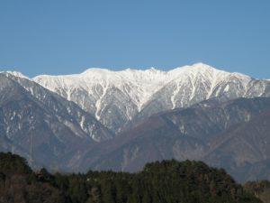 駒ヶ岳、中央アルプス、駒ケ根